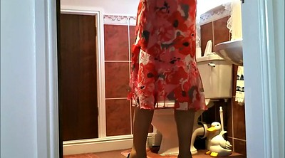 Granny solo, Solo outdoor, Voyeur dressing, Old granny, Dress