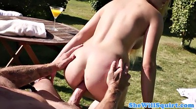 Squirting, Outdoor
