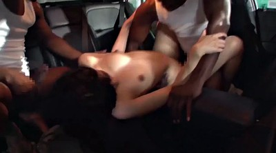 Japanese black, Double, Bbc creampie, Japanese threesome, Japanese ass, Black and japanese