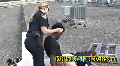 Huge bbw, Ebony tits, Cops