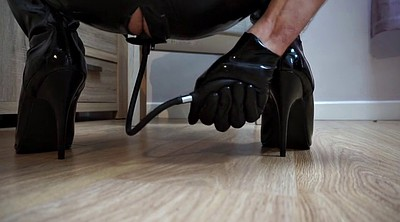 Boot, Latex anal, Anal plug