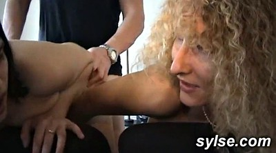 Old anal, Mature strapon, Old young lesbian, Old young anal, Young old lesbian, Trio anal