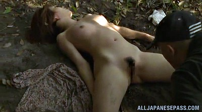 Japanese outdoor, Outdoor creampie