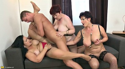 Hot mom, Moms, Young and old, Granny and boy, Sex mom, Mom boy