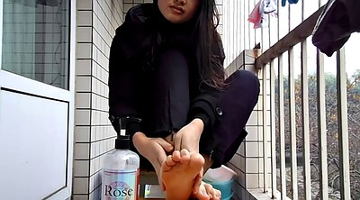 Chinese teen, Chinese foot, Asian foot, Chinese foot fetish, Chinese feet