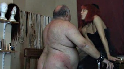 Fat man, Bbw granny, Fat granny, Two man, Sitting, Dominatrix