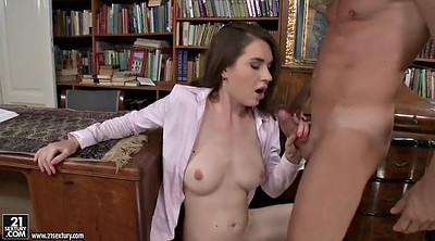 Blow job, Nadia, Library, Job, Tit job, Blow