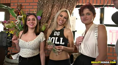 Reality show, Cash, Small tits