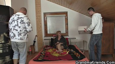 Granny, Share wife, Old lady, Delivery