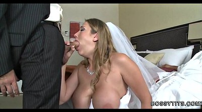 Bride, Wedding, Big tits mature, Wed