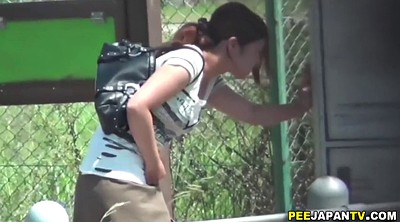 Japanese pee, Japanese outdoor, Asian pee