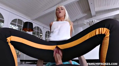 Family, Stretch, Mature cumshot