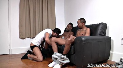 Big cock, Amateurs, Ebony threesome