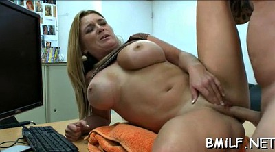 Hot mom, Mom blowjob, Mom big tit