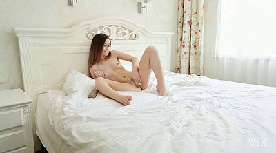Masturbating, Bedroom, Young solo
