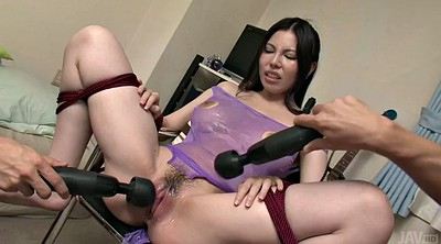 Japanese bondage, Gaping, Japanese oil, Tied