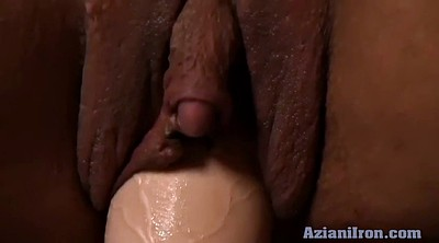 Fitness, Clit, Big clits, Busty dildo ride