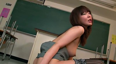 Gangbang, Student, Japanese teacher, Japanese milf, Group, Creampie gangbang
