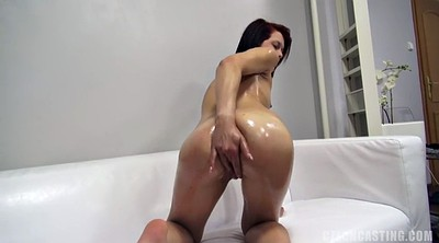 Casting, Hardcore, Oil sex, Oil dildo, Like