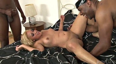 Reagan, Teen interracial, Rough gangbang