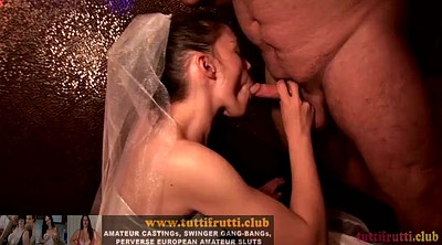 Bride, Wife gangbang, Swingers party
