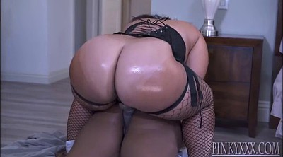 Two black, Round ass