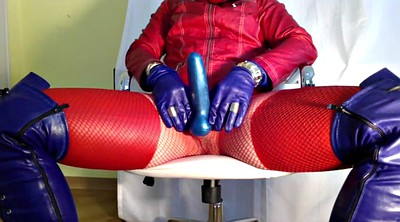 Boots, Red, Gloves, Leather, Glove, Leather glove