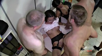 Office, Gangbang creampie
