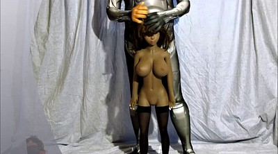 Cosplay, African, Sex doll, Young big tits