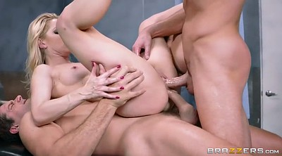 Double anal, Ashley fires