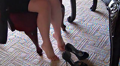 Silk, Silk stockings, Stockings foot, Stocking foot, High heels fetish