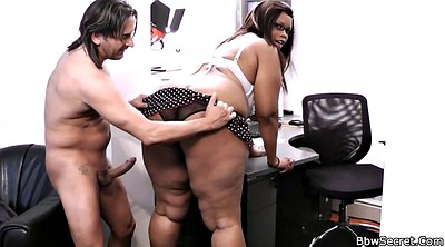 Bbw, Big black, Riding