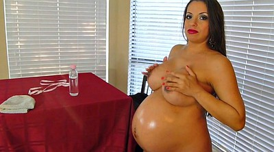 Pregnant amateur, Massage pregnant
