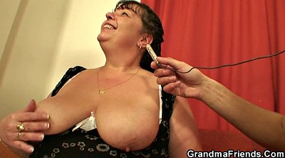 Big boobs, Old young threesome, Old milf, Big boob mom