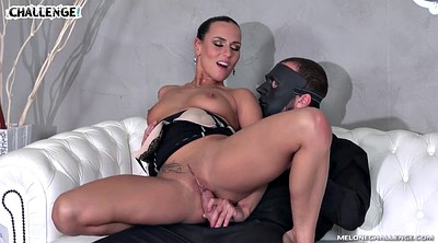 Casting anal, Mea melone, Masked