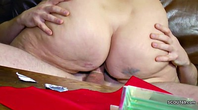 First, Step mother, Old milf, First fuck