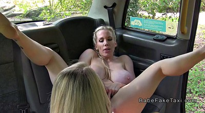 Fake taxi, Huge, In public