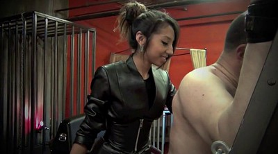Latex, Caning, Mistress, Female, Caned