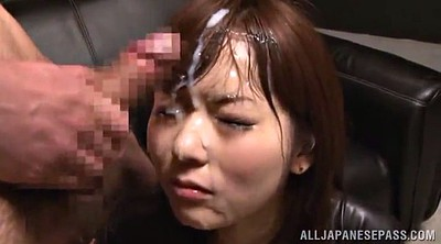 Bukkake, Asian handjob, Handjobs, Latex handjob