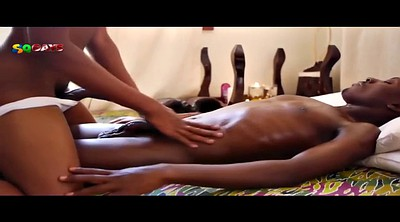 Black massage, Gun, Black cum, Black and ebony