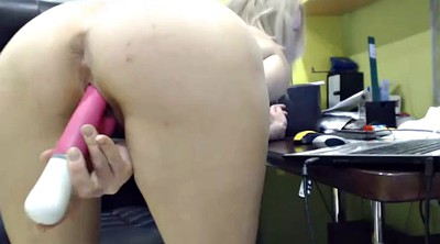 Webcam office, Office masturbation
