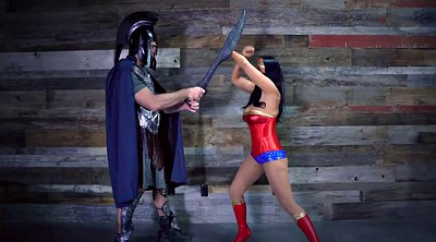 Cosplay, Music, Big woman, Wonder woman, Music video