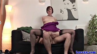 Stockings milf, British milf