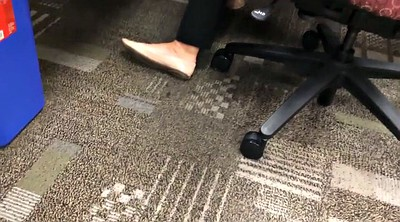 French, Office foot, Flats, White foot, She