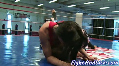 Wrestling, Fighting, Fight, Lesbian rimming