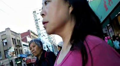 Chinese, Bus, Chinese granny, Asian granny, Chinese voyeur, Chinese milf