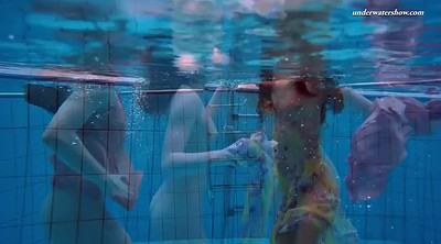Pool, Nice, Underwater, Dress