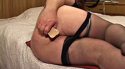 Stocking, Stockings solo, Ass solo, Solo stockings, Chubby milf, Chubby anal