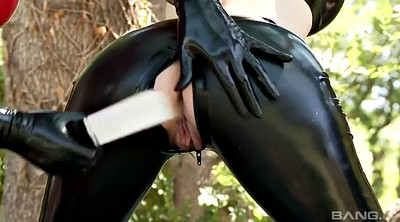 Coat, Sex slave, Lucy, Lesbian spanking
