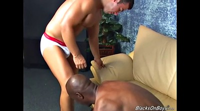 Muscle, Gay black, Big white cock